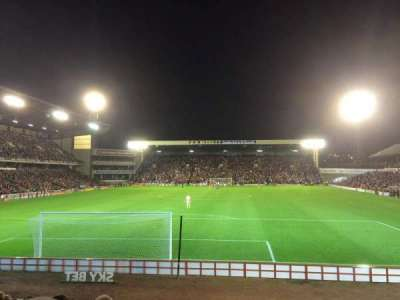 Oakwell Stadium, section: NS3, row: M, seat: 61