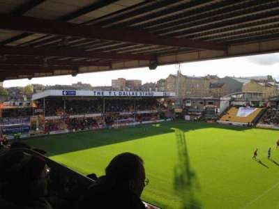 Valley Parade, section: C, row: Z, seat: 81