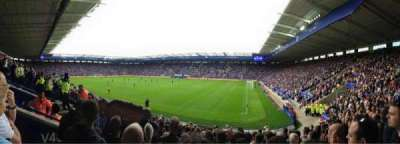 King Power Stadium, section: M3a, row: Q, seat: 333