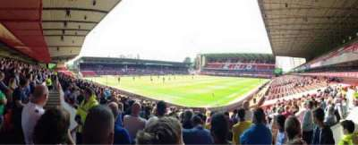 City Ground, section: W1, row: Q, seat: 56
