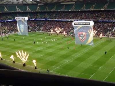 Twickenham Stadium, section: U27