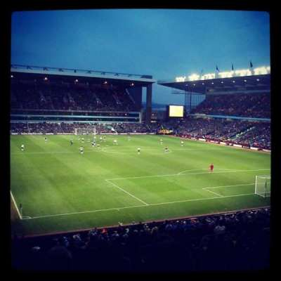 Villa Park, section: L8, row: SS, seat: 209