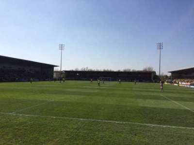 Pirelli Stadium, section: East Stand, row: Front
