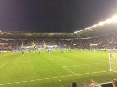 Madejski Stadium, section: R31, row: K, seat: 154