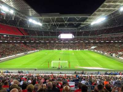 Wembley Stadium section Home End