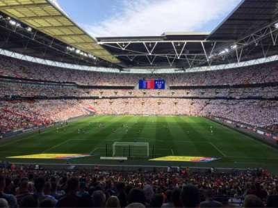 Wembley Stadium section 133