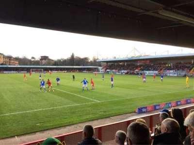 Broadfield Stadium, section: Away Terrace, row: Back Row