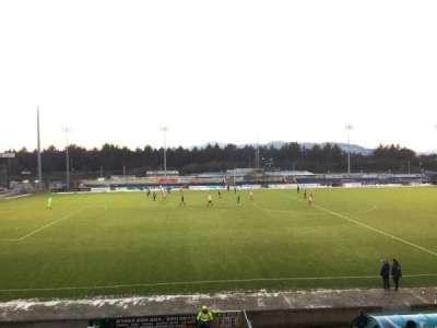 Caledonian Stadium, section: Upper F, row: P, seat: 1