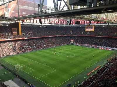 Johan Cruyff Arena, section: 409, row: 24, seat: 80