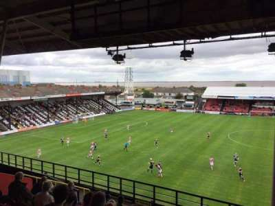 Blundell Park, row: M, seat: 60