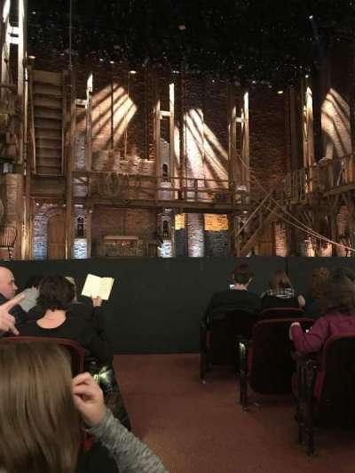 CIBC Theatre, section: Orchestra L, row: G, seat: 1