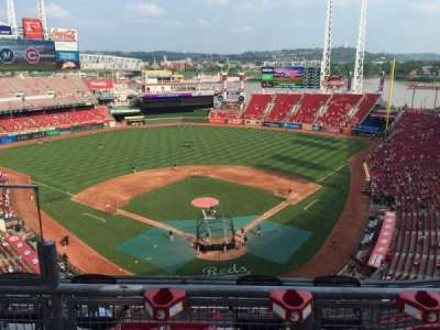 Great American Ball Park, section: 523, row: B, seat: 13