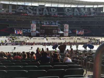 Paul Brown Stadium, section: 141, row: 23, seat: 2