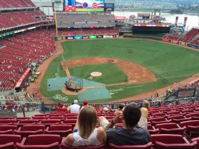Great American Ball Park section 527