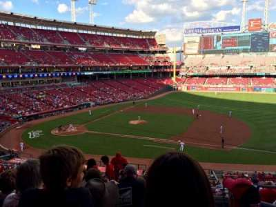 Great American Ball Park, section: 303, row: I, seat: 2