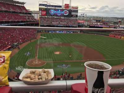 Great American Ball Park, section: 428, row: A, seat: 15