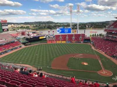 Great American Ball Park section 518