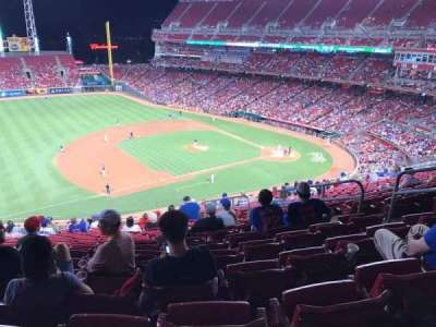 Great American Ball Park section 415