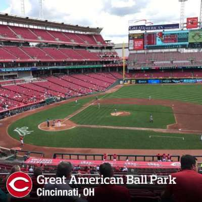 Great American Ball Park section 302