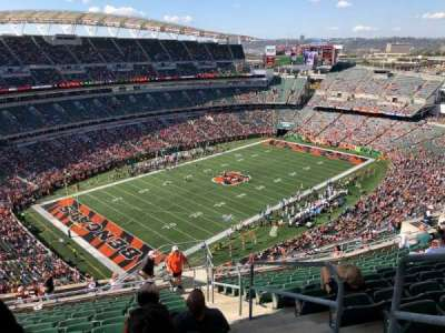 Paul Brown Stadium, section: 347, row: 24, seat: 1