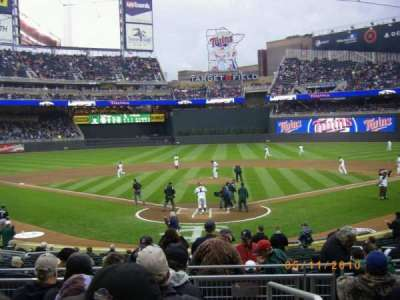 Target Field section 114