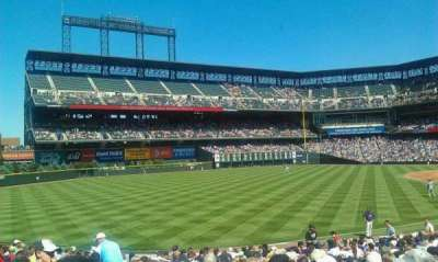 Coors Field section 147
