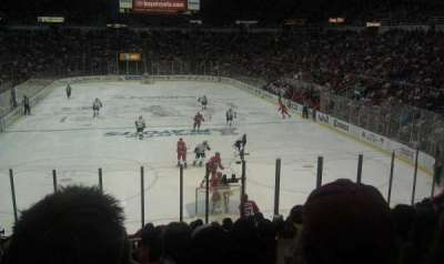 Joe Louis Arena, section: 101, row: 17, seat: 7
