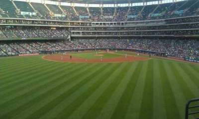 Progressive Field section 184