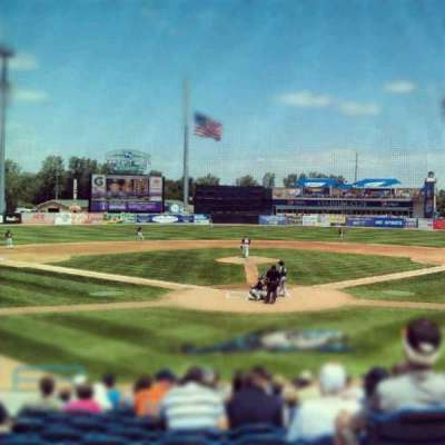 Fifth Third Ballpark, section: 217, row: 10, seat: 12