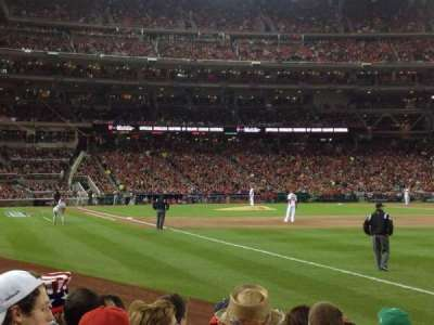 Nationals Park, section: 136, row: J, seat: 14