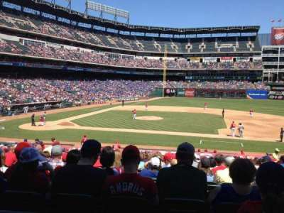 Globe Life Park in Arlington, section: 33, row: 25, seat: 8