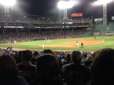 Fenway Park section Loge Box 101