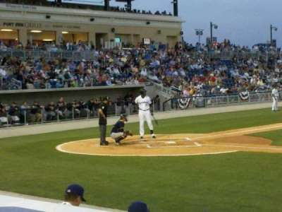 Blue Wahoos Stadium section 106