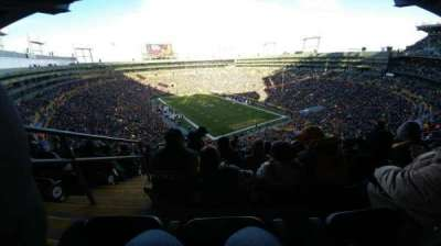 Lambeau Field, section: 640s, row: 10, seat: 2