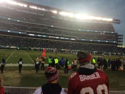 Lincoln Financial Field, section: 116, row: 1, seat: 13