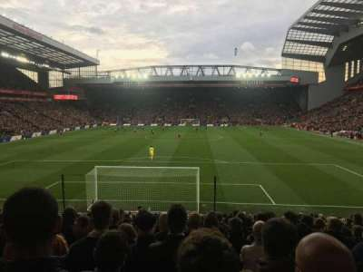 Anfield, section: 124, row: 25, seat: 98
