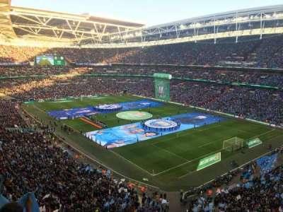 Wembley Stadium section 545