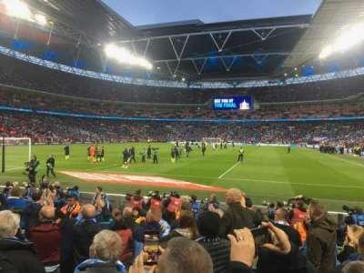 Wembley Stadium section 110
