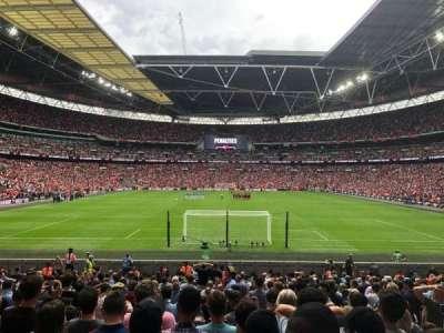 Wembley Stadium section 134