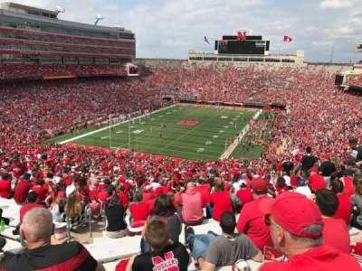 Memorial Stadium, section: 14, row: 98, seat: 24