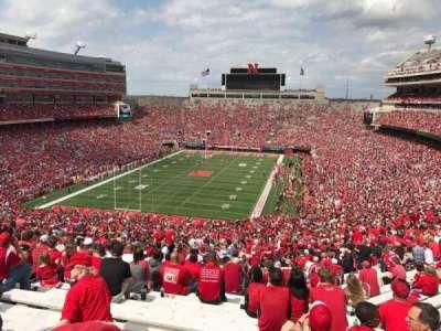 Memorial Stadium, section: 15, row: 98, seat: 8