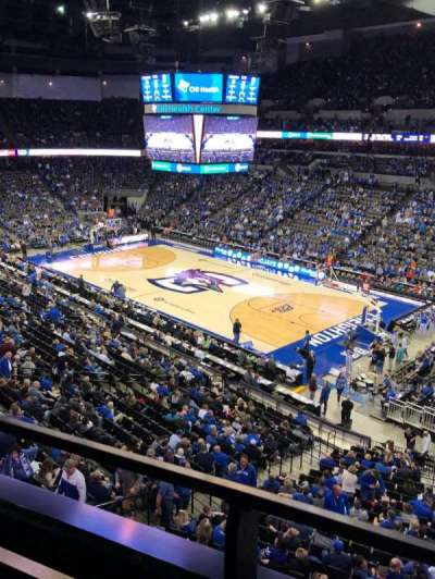 CHI Health Center Omaha, section: 202, row: 1, seat: 4