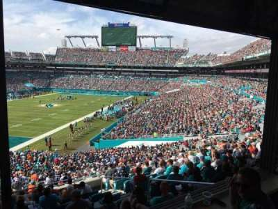 Hard Rock Stadium, section: 227A