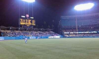 Dodger Stadium, section: 49FD, row: AA, seat: 01