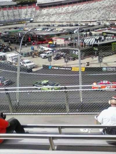 Bristol Motor Speedway, section: Z, row: 6, seat: 11