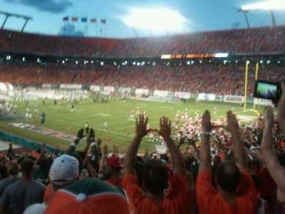 Hard Rock Stadium section 134