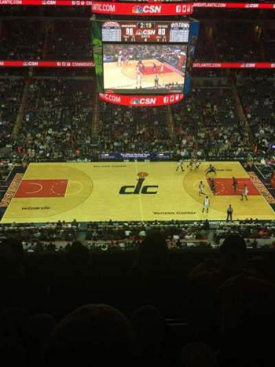 Verizon Center, section: 417, row: 4, seat: 6
