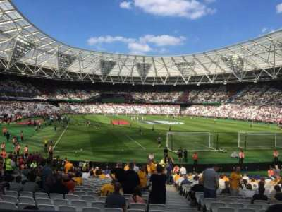 London Stadium section Away Disabled Section