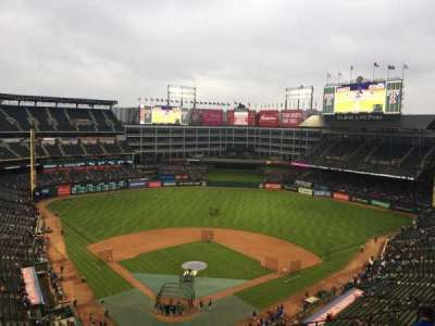 Globe Life Park in Arlington, section: 327, row: 10, seat: 17