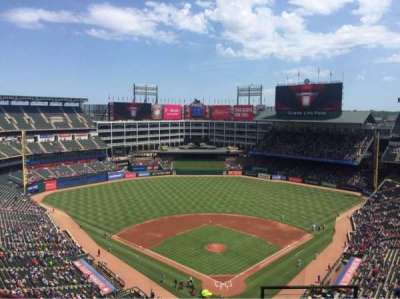Globe Life Park in Arlington, section: 325, row: 18, seat: 22
